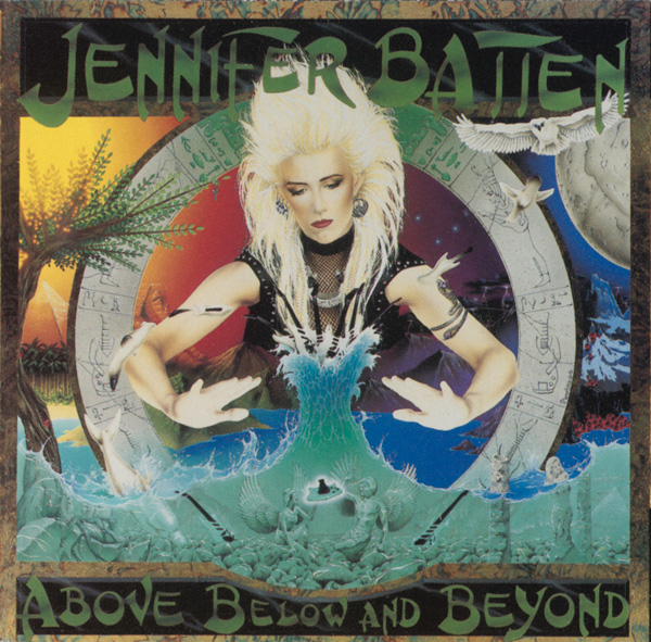 "Debut CD ""Above, Below, and Beyond"" 1992"