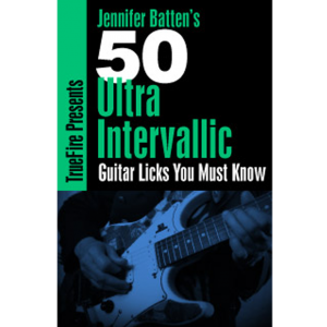 50 Ultra Intervallic Guitar Licks You Must Know