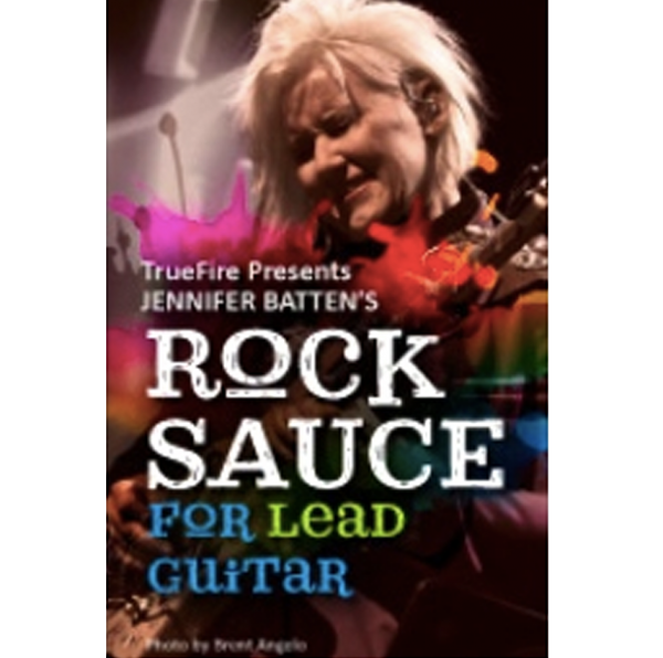 Rock Sauce for Lead Guitar (Disc + Downloads)